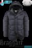 Куртка удлиненная зимняя мужская Braggart Dress Code - 2526A графит