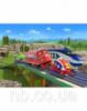 Пазлы «Чаггингтон: паровозики на рельсах», 120 элементов В-РU12261