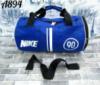 Спортивная дорожная сумка Найк Nike небольшого размера цвет электрик