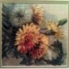 Вышитая картина «Одуванчики»