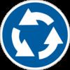 Предписывающие знаки дорожного движения 4.10(Круговое движение)
