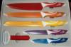 Набор ножей (нерж) FRICO FRU-929, 3,5« 5» 8« 8» 8« , + овощечистка 6 шт