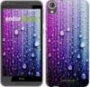 Чехол на HTC Desire 820 Капли воды «3351c-133-9980»