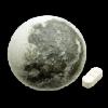 Светильник настенный с пультом управления Луна Серый
