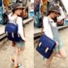 3-145 Оригинальный женский рюкзак сумка / Прогулочный рюкзак / Молодежный рюкзак