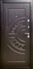 Дверь входная металлическая с МДФ накладкой 98