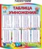 Стенд «Таблица умножения»