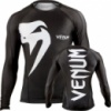 Рашгард Venum «Giant» rashguard - Black - Long sleeves