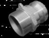 KAMLOK Тип F - Адаптер РЗ 1« - нерж/сталь