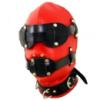 Черно-красная маска