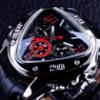 Мужские треугольные часы с автоподзаводом Jaragar Tripple. Супер Новинка!