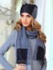 Комплект шапочка +шарфик