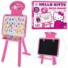 Детский напольный двухсторонний мольберт HK 0101 Hello Kitty (132дет.)
