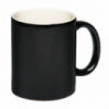 Чашка черная с логотипом Киев