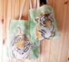 Набор: взрослая и детская сумка Тигры. Экосумки в стиле «Family look»