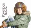 Зимняя шапка с козырьком «Рональдо» Код:2459