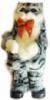 Интерактивная игрушка Кот в полоску Серый (SKD-0602)