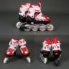 Роликовые коньки (ролики) Best Rollers 9001 «S и M» красные