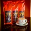 Зерновой кофе, Арабика из Бразилии 1 кг Goriziana BrazilSantos моносорт