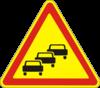 Предупреждающие знаки  1.38(Заторы в дорожном движении)