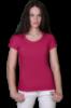 Футболка хлопковая женская 5B - розовая