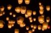 Небесные фонарики. Китайские фонарики. Воздушные небесные фонарики.