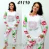 Женская махровая пижама «Роза»
