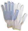 Перчатки трикотажные с ПВХ точкой плотные 65гр