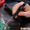 TS100 65W Digital OLED Programmable Soldering Iron - TS-BC2 BLACK