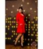 Платье «Коттон » красное