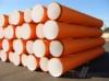 Труба ПВХ гофрированная ф1000 мм для наружной канализации