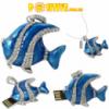Флешка-кулон «Рыбка» с цепочкой (16Гб./usb2.0) - в наличии 1шт.