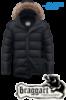 Куртка подростковая зимняя Braggart Teenager - 7355D черная