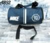 Спортивная дорожная сумка Найк Nike небольшого размера цвет синий