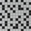 Мозаика Altea Белая/Черная 30х30