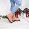 Ботинки женские Klass пудра