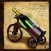 Минибар сувенирный из дерева Велосипед
