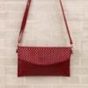 Стильная женская сумочка - цвет красный