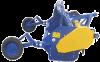 Мульчирователь ПР - 2,6 полуприцепной роторный ПР-2,6 ПО ПФ «АГРОРЕММАШ» Измельчитель