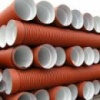 Труба ПВХ ф160 мм (гофра) для наружной канализации