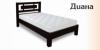 Кровать односпальная «Диана» из натурального дерева