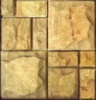 Плитка из песчаника «Мозаика» рустованная с фаской