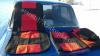 Чехлы сидений 2101, 2102, 2103, 2106 черные с красными вставками