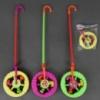 Каталка 892-1 (120) колесо на палочке, 3 цвета, в кульке