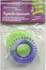 Резинка-браслет из TPU неон, высокотемпературного полиуретана Арго (не путает волосы,  головные боли)