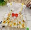 Платье детское белая с цветами Minie 6230