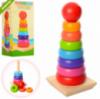 Деревянная игрушка «Большая пирамидка »