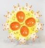 Декоративная подставка «Пасхальная» на 4 яйца