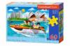 Пазлы «Поездка на катере в Сиднее», 60 элементов В-066025