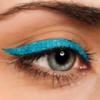 Жидкая подводка для глаз Цветная галактика тон голубые искры